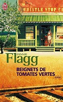 """Couverture du livre """"Beignets de tomates vertes"""""""